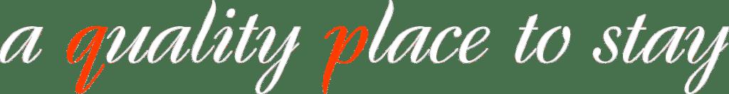 Slogan de qp Hotels ubicado en el Header de la pagina